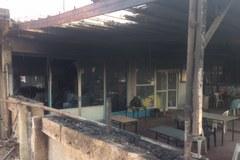 Miejscowość Kineta, spalony bulwar nadmorski w obiektywie RMF FM