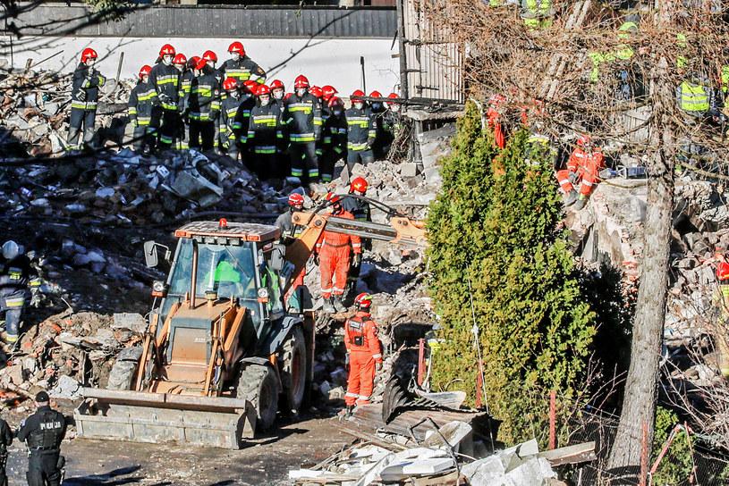 Miejscu wybuchu gazu w Szczyrku /Jakub Kamiński   /East News