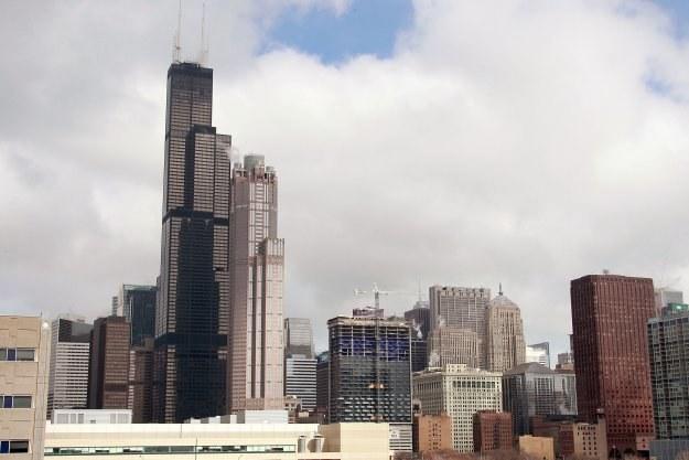 Mierzący 443 metry wysokości Willis Tower jest najwyższym budynkiem w Stanach Zjednoczonych /AFP