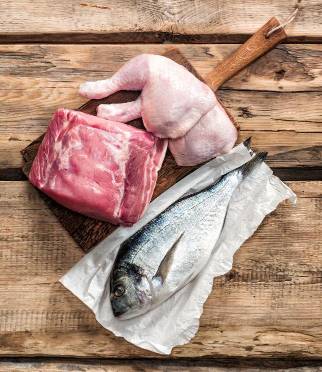 Mięso i ryby /©123RF/PICSEL