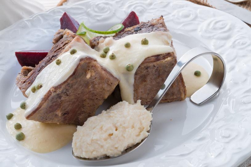 Mięso z chrzanem /123RF/PICSEL