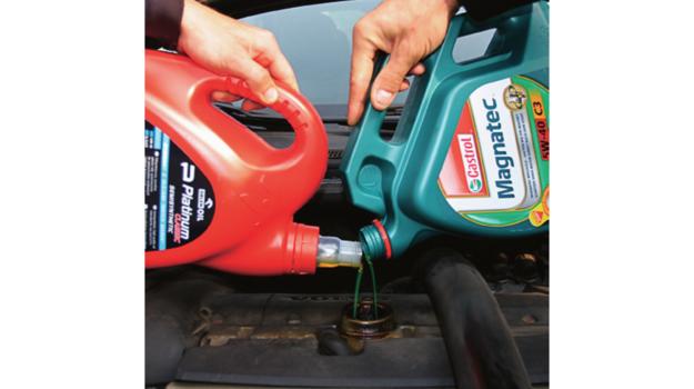 mieszanie olejów /Motor