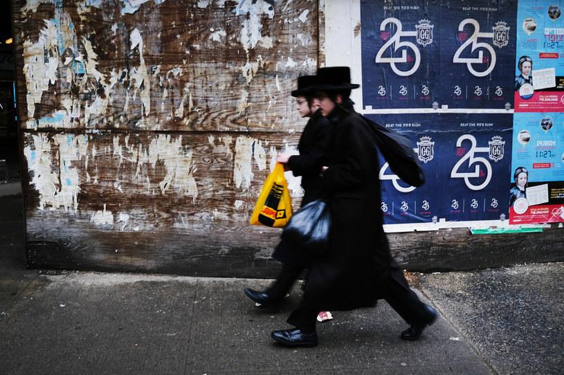 Mieszkańcy Borough Park w Nowym Jorku, zdj. ilustracyjne /Spencer Platt /AFP/Getty