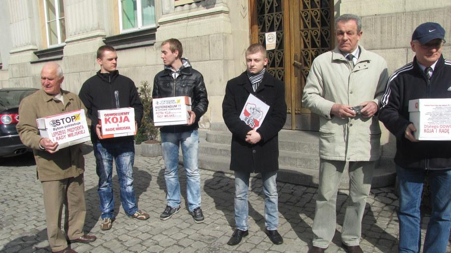 Mieszkańcy Bytomia chcą odwołania prezydenta i Rady Miasta  /Anna Kropaczek /RMF FM