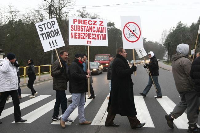 Mieszkańcy domagają się budowy obwodnicy Płocka /Marcin Bednarski /PAP