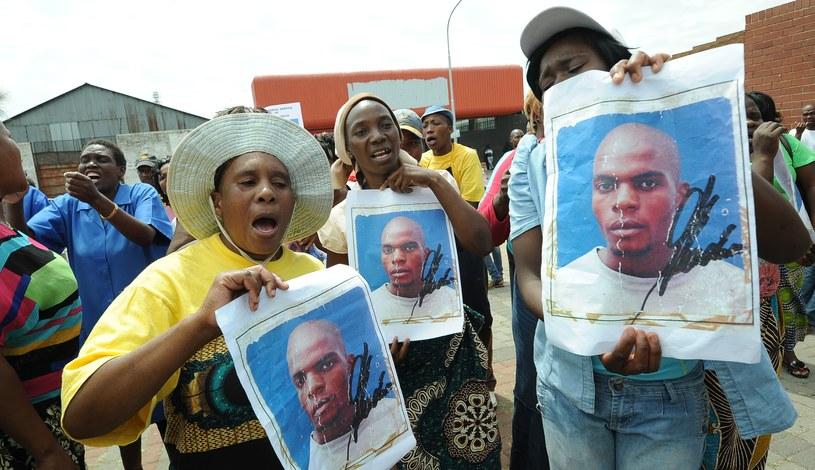 Mieszkańcy domagali się sprawiedliwości dla zamordowanego /AFP