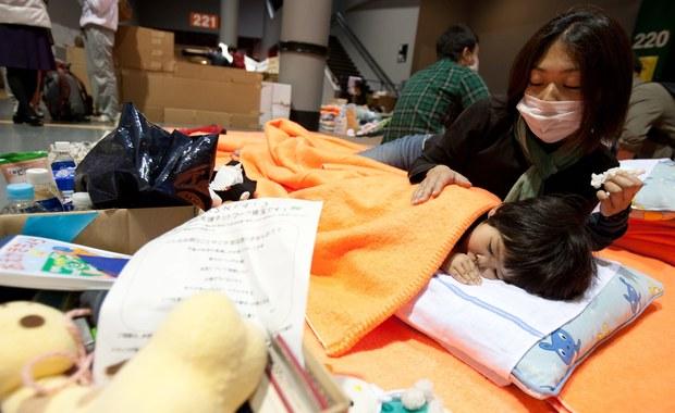 Mieszkańcy Fukushimy chronią się przed promieniowaniem