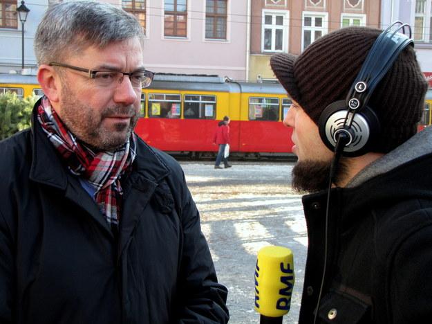 Mieszkańcy Grudziądza potrafią zasypywać ciekawostkami /Kamil Młodawski /RMF FM