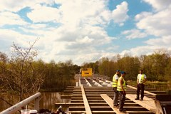 """Mieszkańcy Kamiona """"odcięci od świata"""". Z powodu remontu mostu..."""