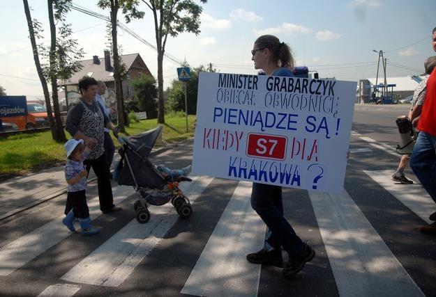 Mieszkańcy Krakowa od lat domagają się S7. Bez rezultatu / Fot: Marek Lasyk /Reporter
