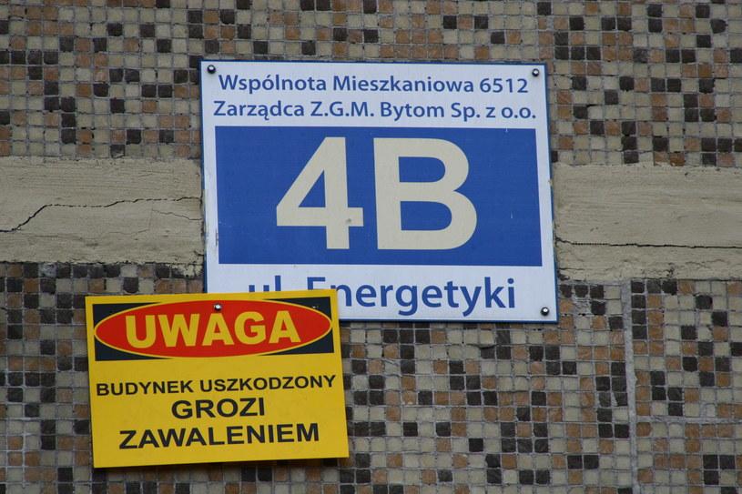 Mieszkańcy nie mogą wrócić do swoich mieszkań, budynek idzie do rozbiórki /Justyna Tomaszewska /INTERIA.PL