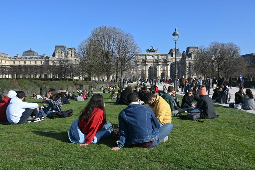 Mieszkańcy Paryża, zdjęcie ilustracyjne /Marta Darowska /Reporter