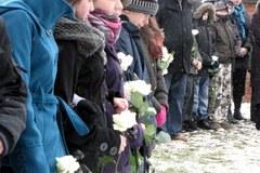 Mieszkańcy Służewa pożegnali Ewelinę