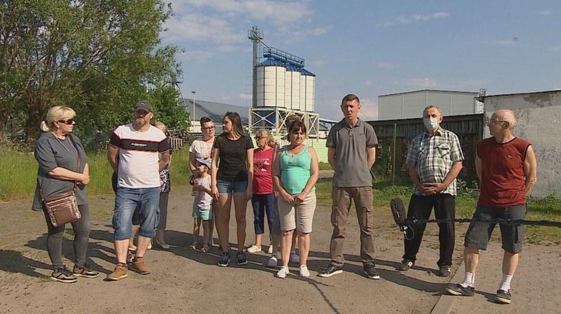 Mieszkańcy Stanowic nie chcą fabryki peletu /Interwencja  /Polsat News