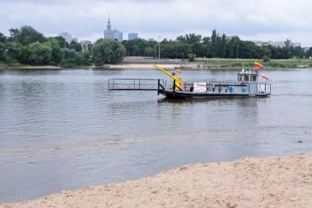 Mieszkańcy Warszawy będą sprzątać brzegi Wisły/fot. P. Przybyszewski /MWMedia