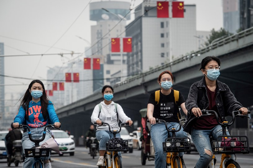 Mieszkańcy Wuhanu /STR / AFP /AFP