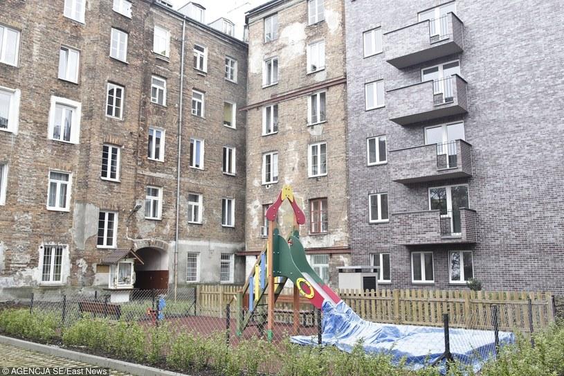 Mieszkania komunalne w Warszawie /East News