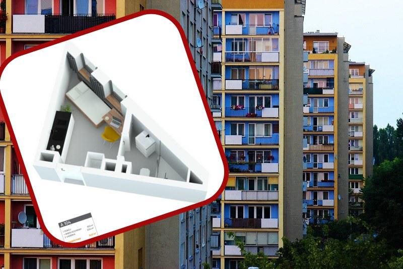 Mieszkanie o powierzchni 12 m kw.! /Twitter /Pixabay.com