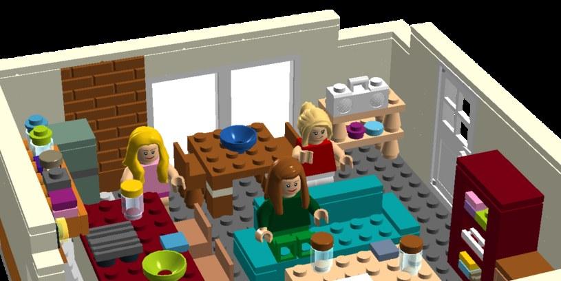 Mieszkanie Penny w wersji LEGO /ideas.lego.com /internet