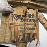 Mieszkaniec Szczecina podczas remontu odkrył bezcenne dokumenty