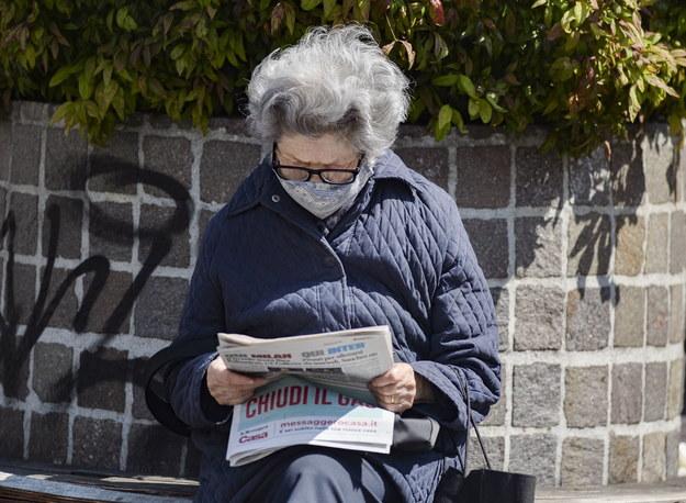 Mieszkanka Mediolanu /Andrea Fasani /PAP/EPA