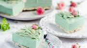 Miętowy tort na waflach