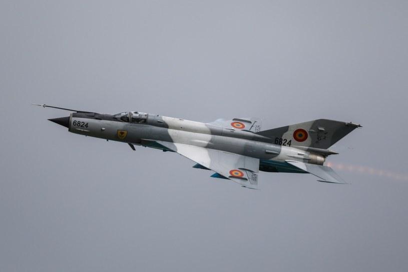 MiG-21 - zdjęcie ilustracyjne /Michal Adamowski /Reporter