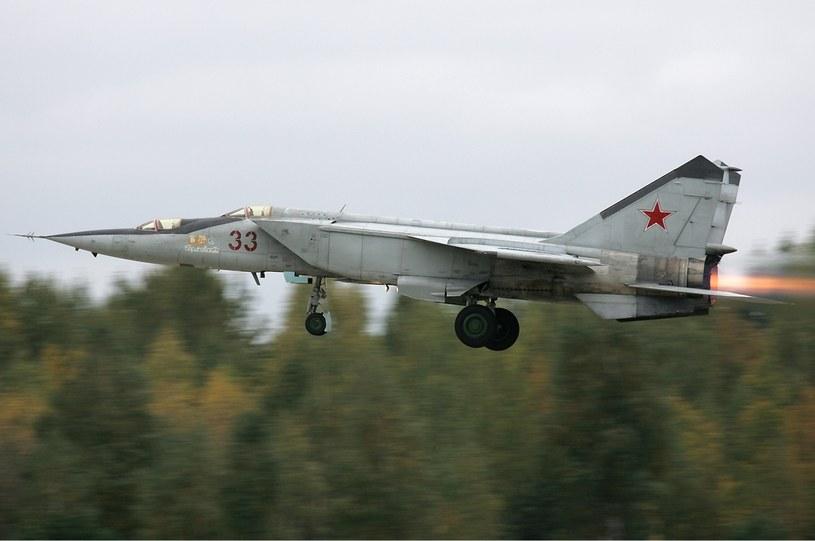 MiG-25 do dziś jest uznawany za jedną z najlepszych maszyn myśliwskich w historii. Fot. Dmitrij Pichugin /Wikipedia