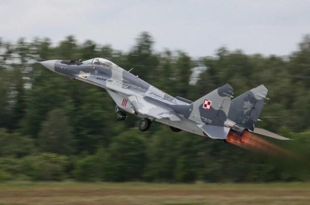 MiG-29.  Fot. A. Weber/DPI MON /Defence24