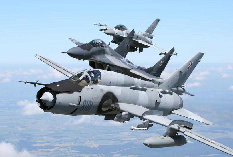 MiG-29 jest jednym z trzech typów odrzutowych samolotów bojowych wykorzystywanych przez Siły Powietrzne RP /Bartek Bera /INTERIA.PL