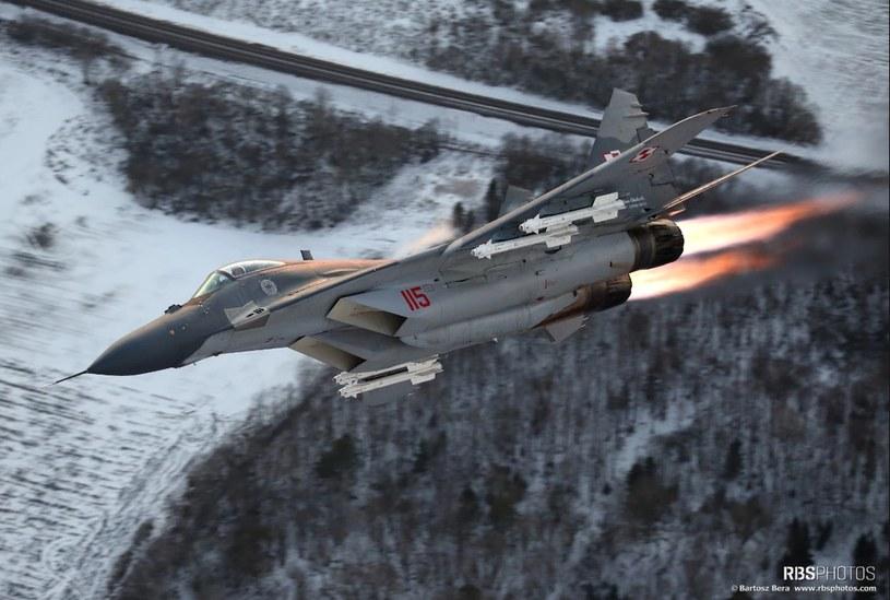 MiG 29 Polskich Sił Powietrznych, zdjęcie ilustracyjne/fot. Bartek Bera /