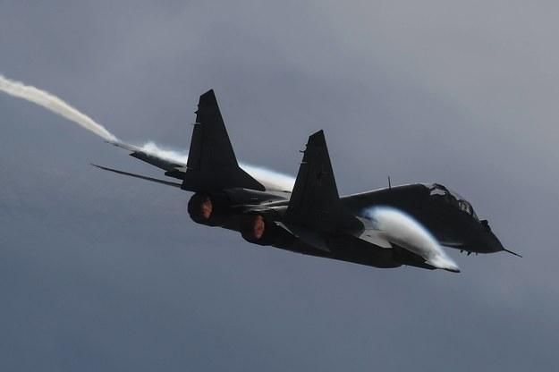 Bułgarski myśliwiec MiG-29 spadł do Morza Czarnego