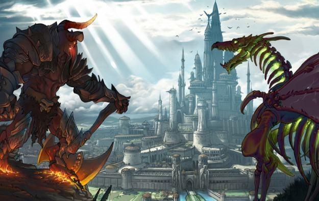 Might and Magic Clash of Heroes - motyw graficzny /Informacja prasowa
