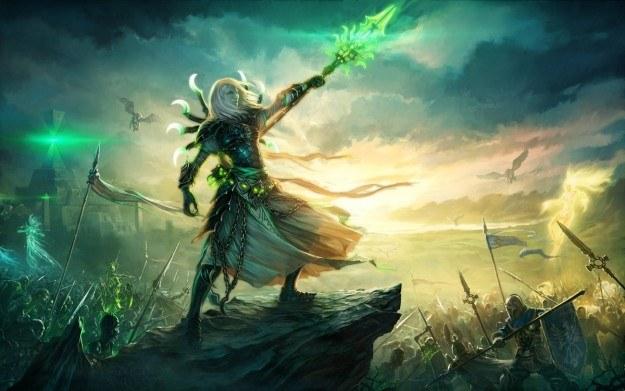 Might & Magic Heroes VI - motyw graficzny /Informacja prasowa