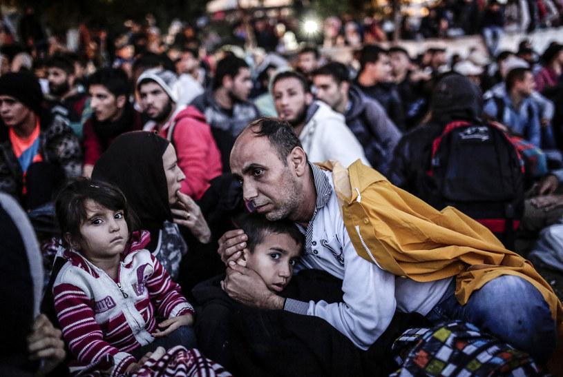 Migranci docierający do Turcji /AFP