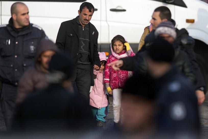 Migranci i uchodźcy na granicy turecko-bułgarskiej /NIKOLAY DOYCHINOV / AFP /AFP