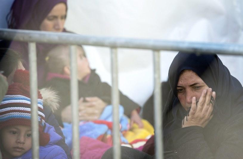 Migranci na granicy grecko-macedońskiej, zdj. ilustracyjne /GEORGI LICOVSKI /PAP/EPA