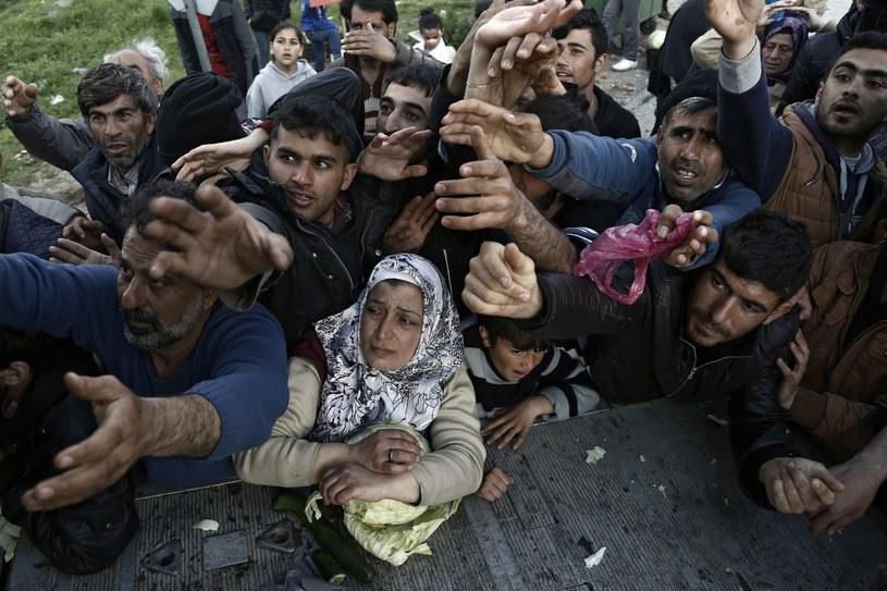 Migranci na granicy grecko-macedońskiej, zdj. ilustracyjne /YANNIS KOLESIDIS /PAP/EPA