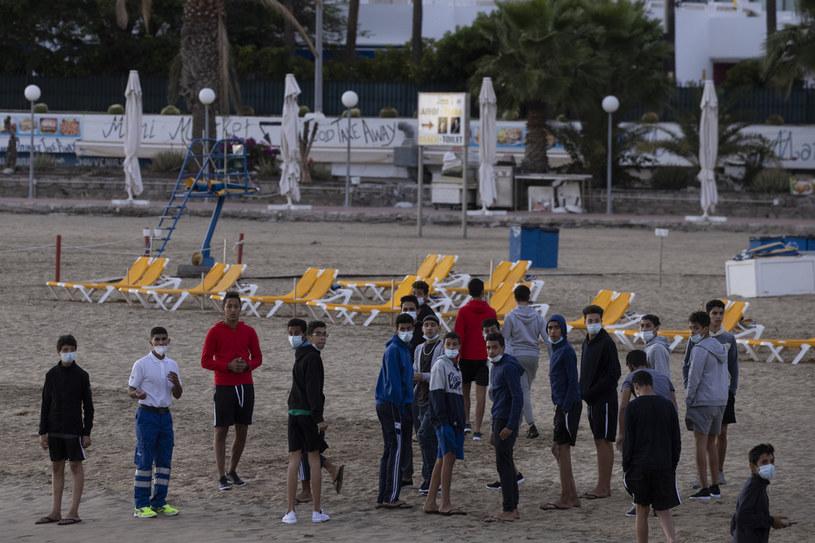 Migranci na Wyspach Kanaryjskich /Dan Kitwood /Getty Images
