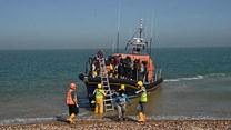 Migranci uratowani na morzu w południowo-wschodniej Anglii