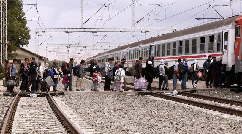 Migranci w Chorwacji /PAP/EPA