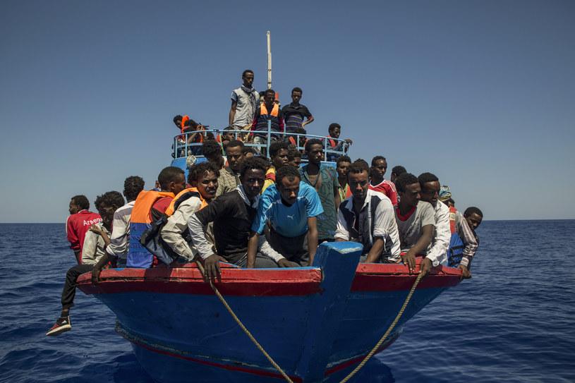 Migranci w drodze do Europy, zdjęcie ilustracyjne /AFP