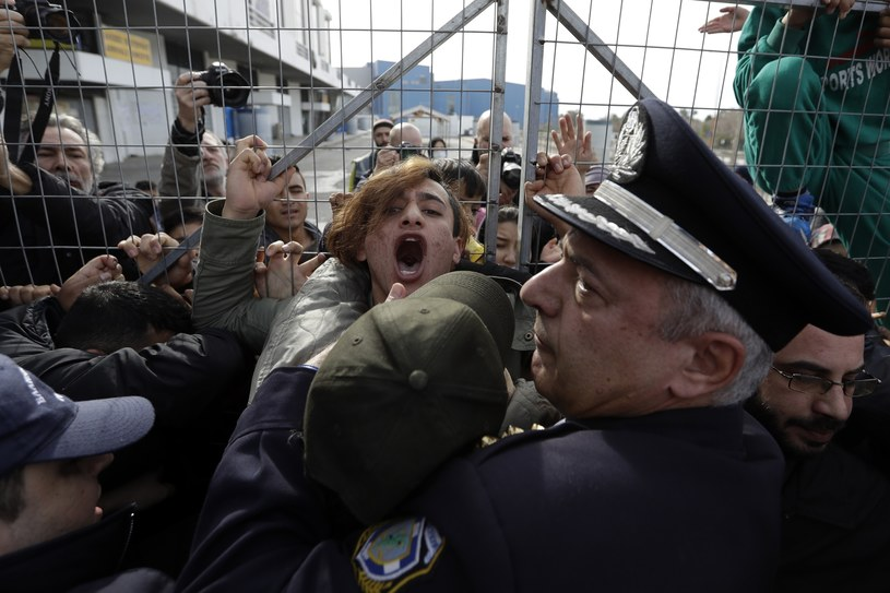Migranci w Grecji (zdj. ilustracyjne) /Associated Press /East News