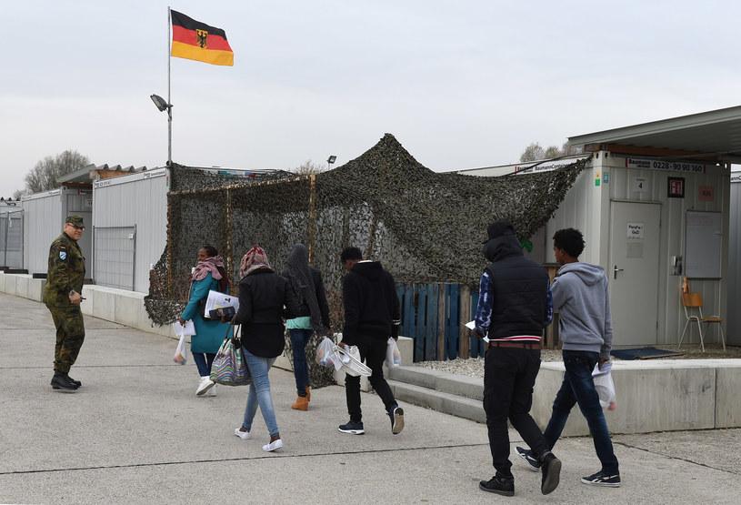 Migranci w Niemczech; zdj. ilustracyjne /AFP