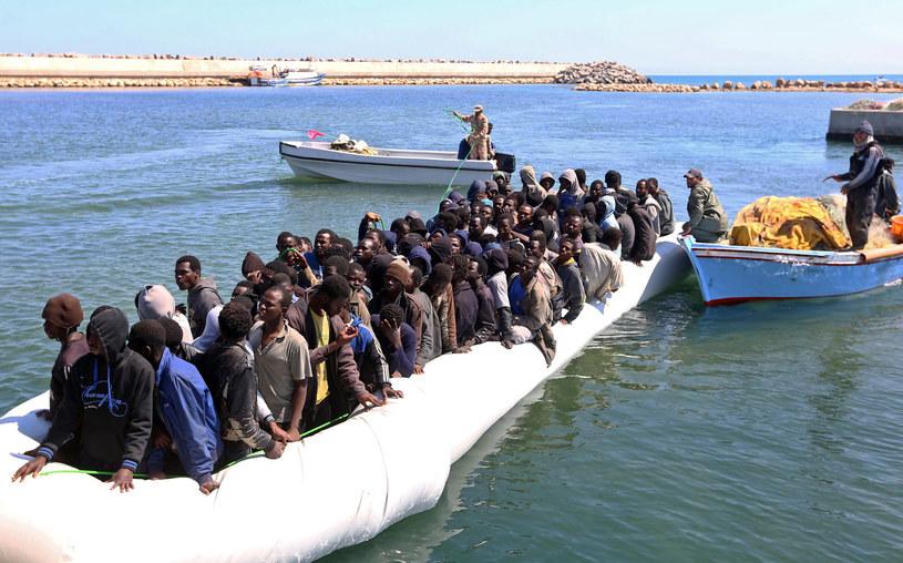 Migranci z Afryki; zdj. ilustracyjne /AFP