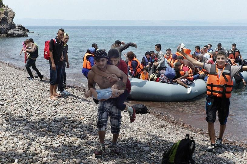 Migranci, zdj. ilustracyjne /STRATIS TSOULELIS  /PAP/EPA