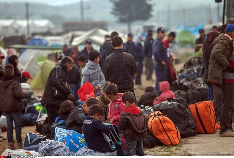 Migranci, zdj. ilustracyjne /CHINE NOUVELLE/SIPA /East News