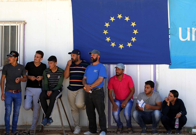 Migranci (zdj. ilustracyjne) /    Mohammad Abu Ghosh Xinhua / eyev /East News