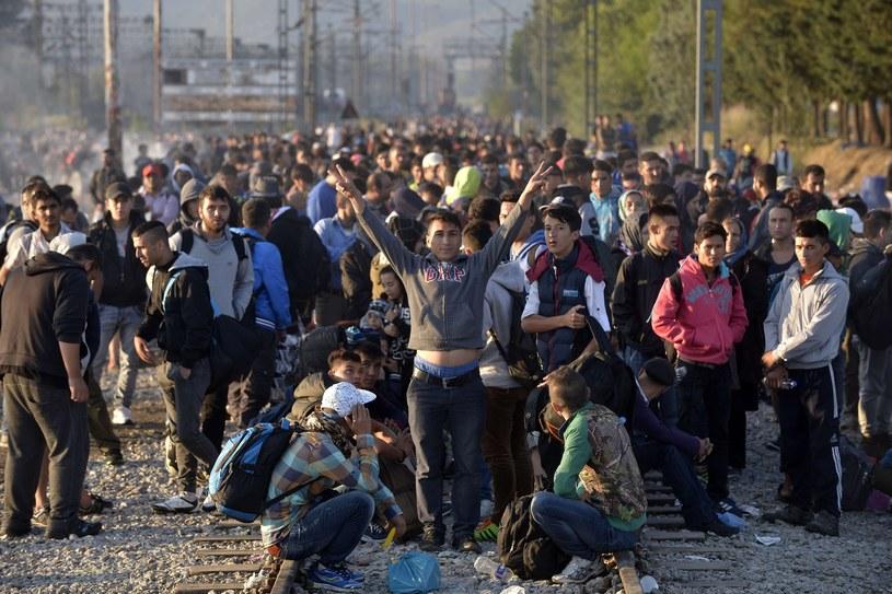 Migranci, zdj. ilustracyjne /AFP PHOTO / STR /East News