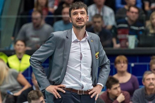 Miguel Angel Falasca trener Skry Bełchatów / Maciej Kulczyński    /PAP